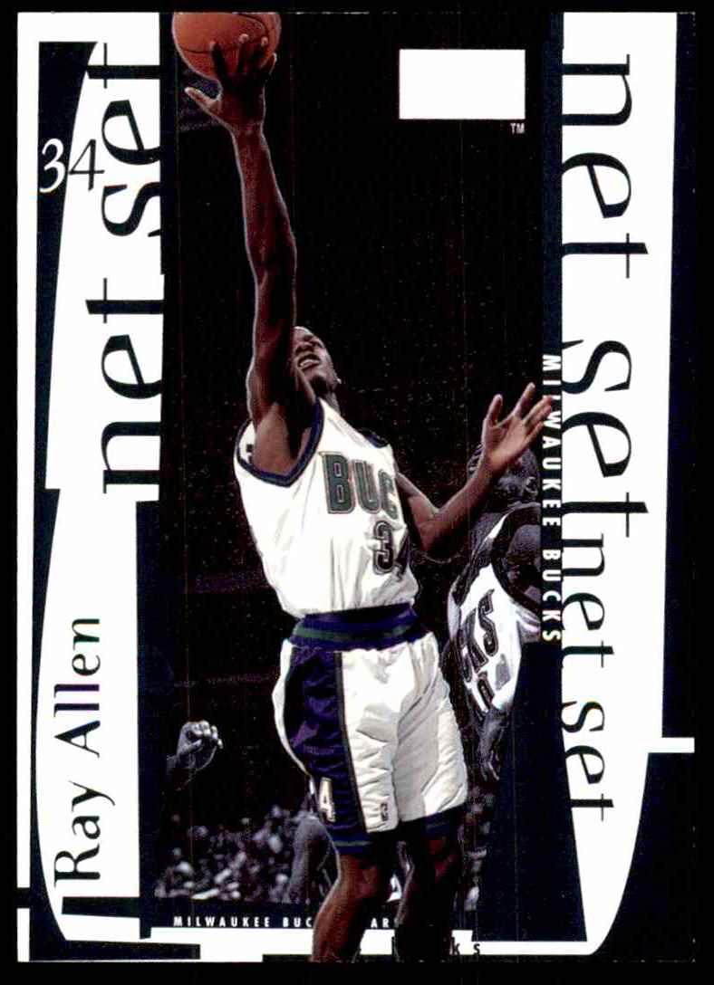1998-99 Skybox Premium Net Set Ray Allen #5 card front image