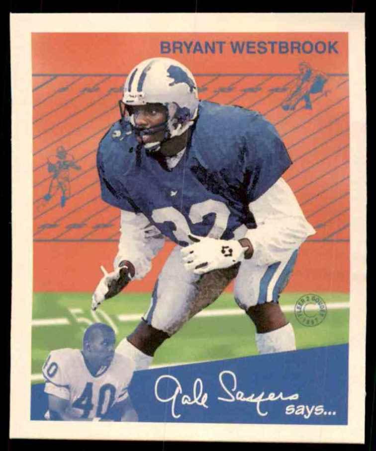1997 Fleer Goudey Bryant Westbrook #111 card front image