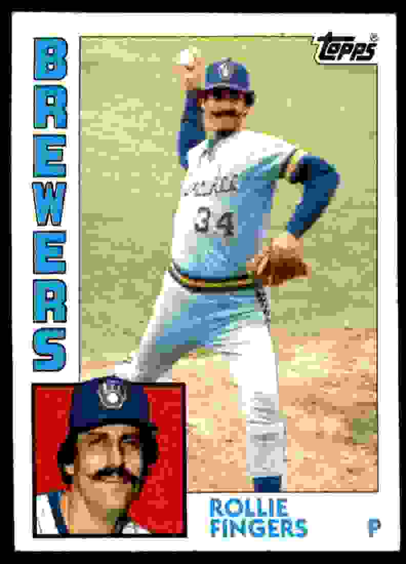 1984 Topps Rollie Fingers #495 card front image
