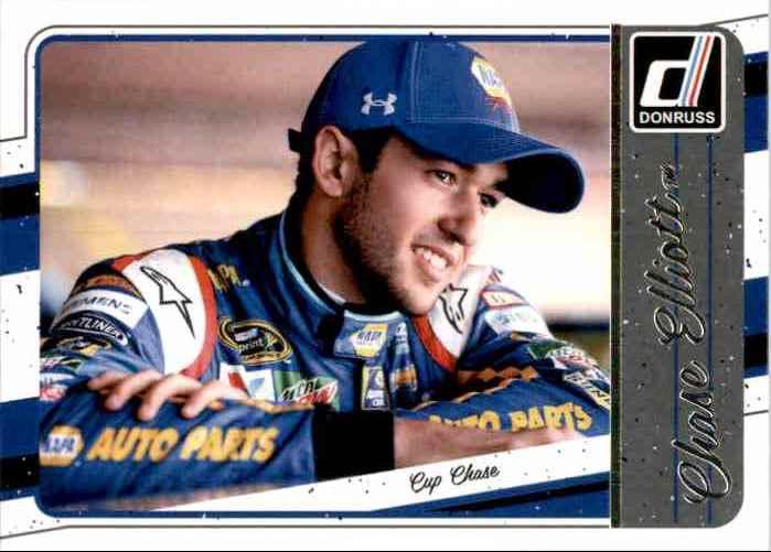 2017 Donruss Chase Elliott #126 card front image