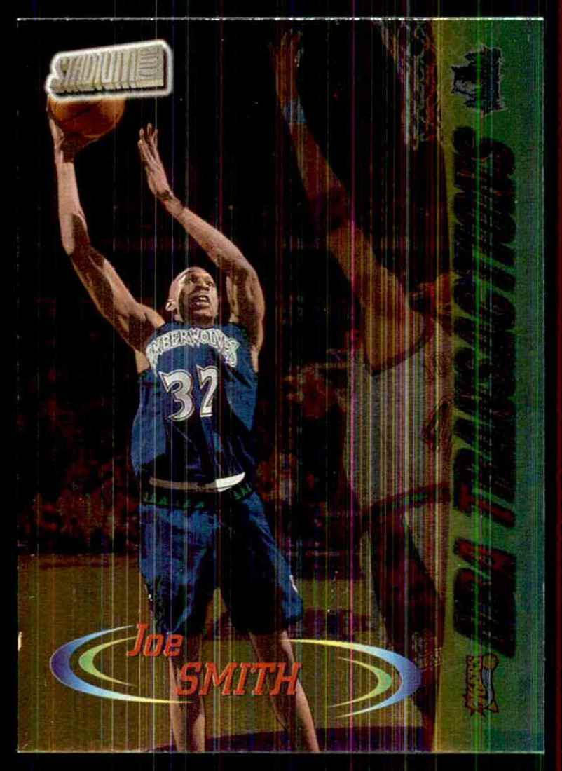 1998-99 Stadium Club Joe Smith Tran #226 card front image