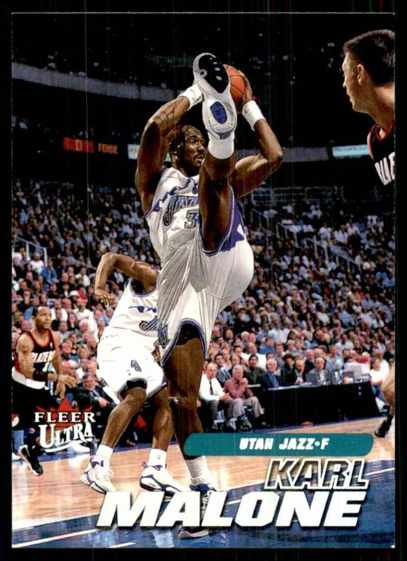 2000-01 Ultra Karl Malone #126 card front image