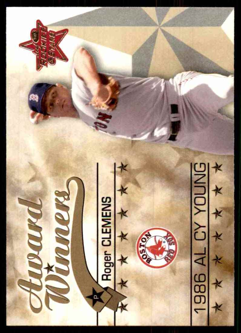 2002 Leaf Rookies & Stars Roger Clemens 86 Cy #263 card front image