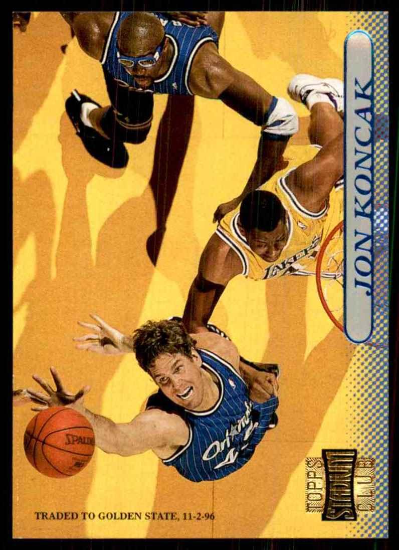 1996-97 Stadium Club Jon Koncak #149 card front image