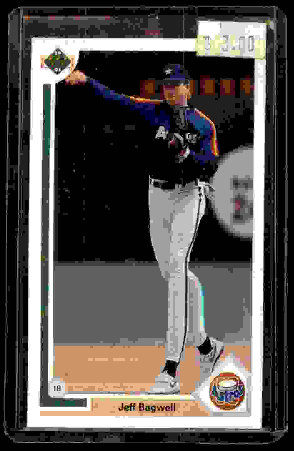 1991 Upper Deck Jeff Bagwell #755 card front image