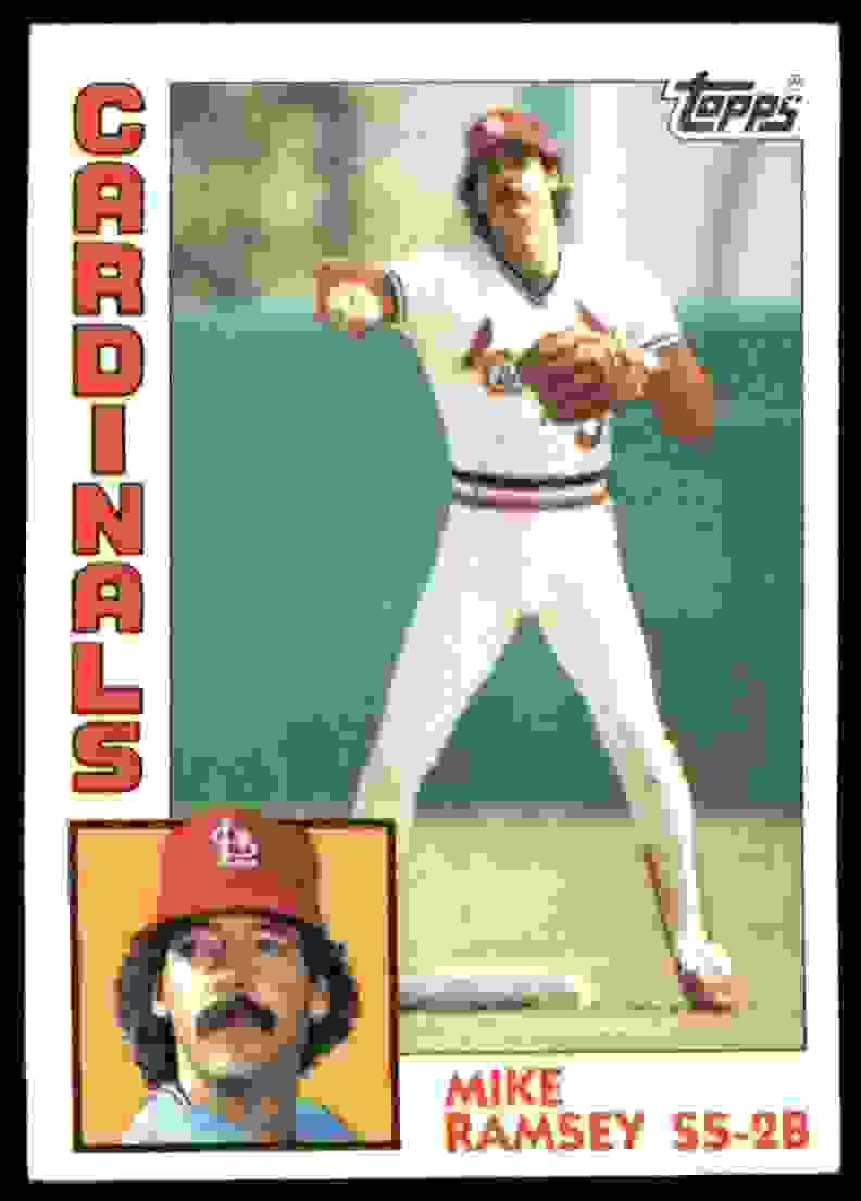 1984 Topps Mike Ramsey #467 card front image