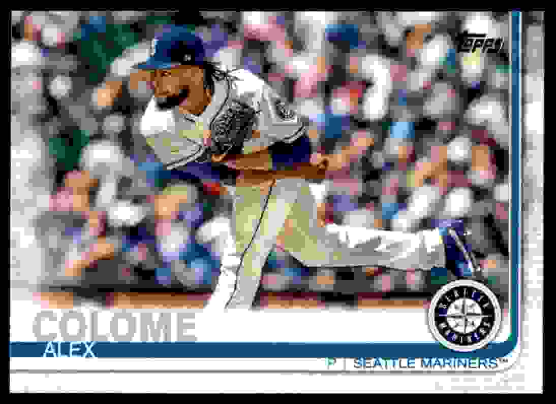 2019 Topps Alex Colome #220 card front image