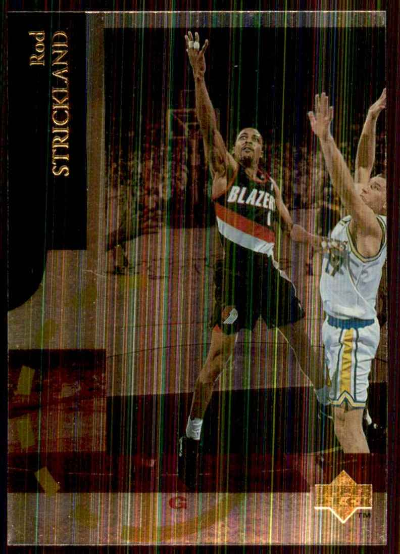 1994-95 Upper Deck Special Edition Rod Strickland #73 card front image