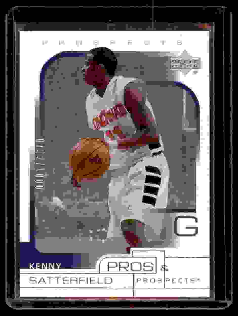 2001-02 Upper Deck Pros & Prospects Kenny Satterfield #120 card front image