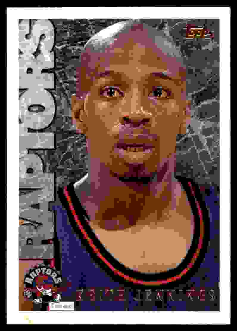 1995-96 Topps Keith Jennings #172 card front image