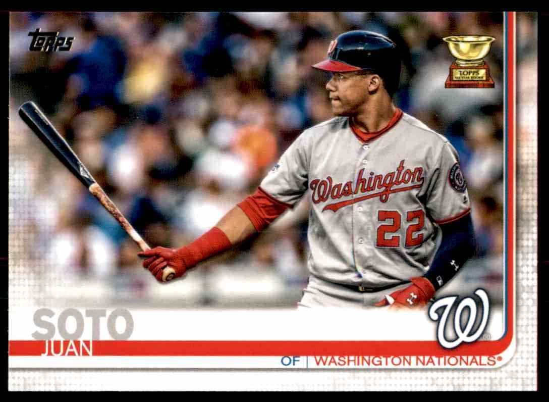 2019 Topps Juan Soto #213 card front image