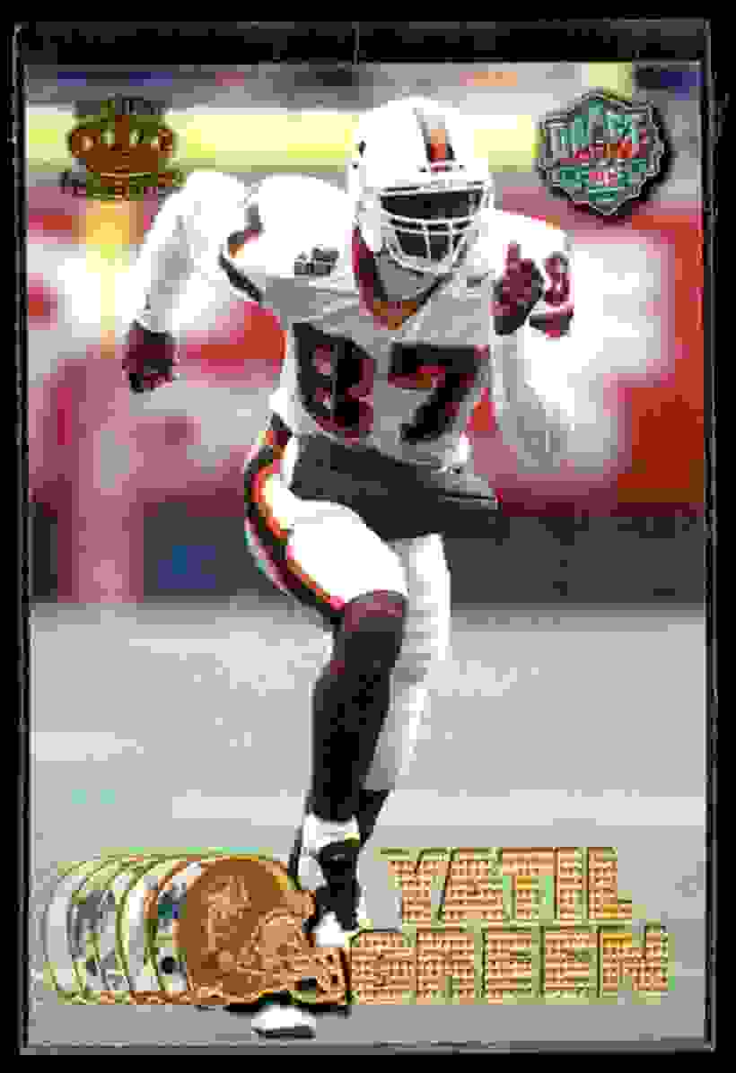 1997 Pacific Yatil Green #434 card front image