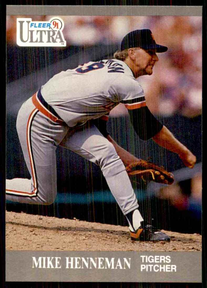 1991 Ultra Mike Henneman #123 card front image