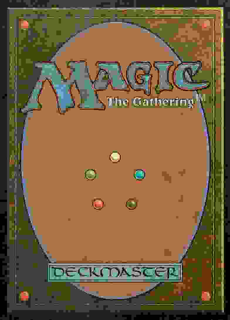 1994 Magic The Gathering Invasion Exotic Curse #105 card back image
