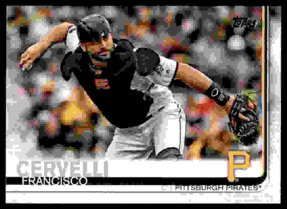 2019 Topps Francisco Cervelli #274 card front image