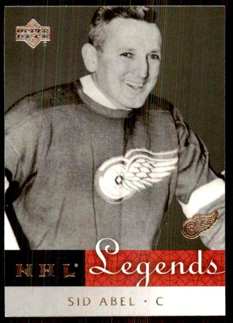 2001-02 Upper Deck Legends Sid Abel #18 card front image