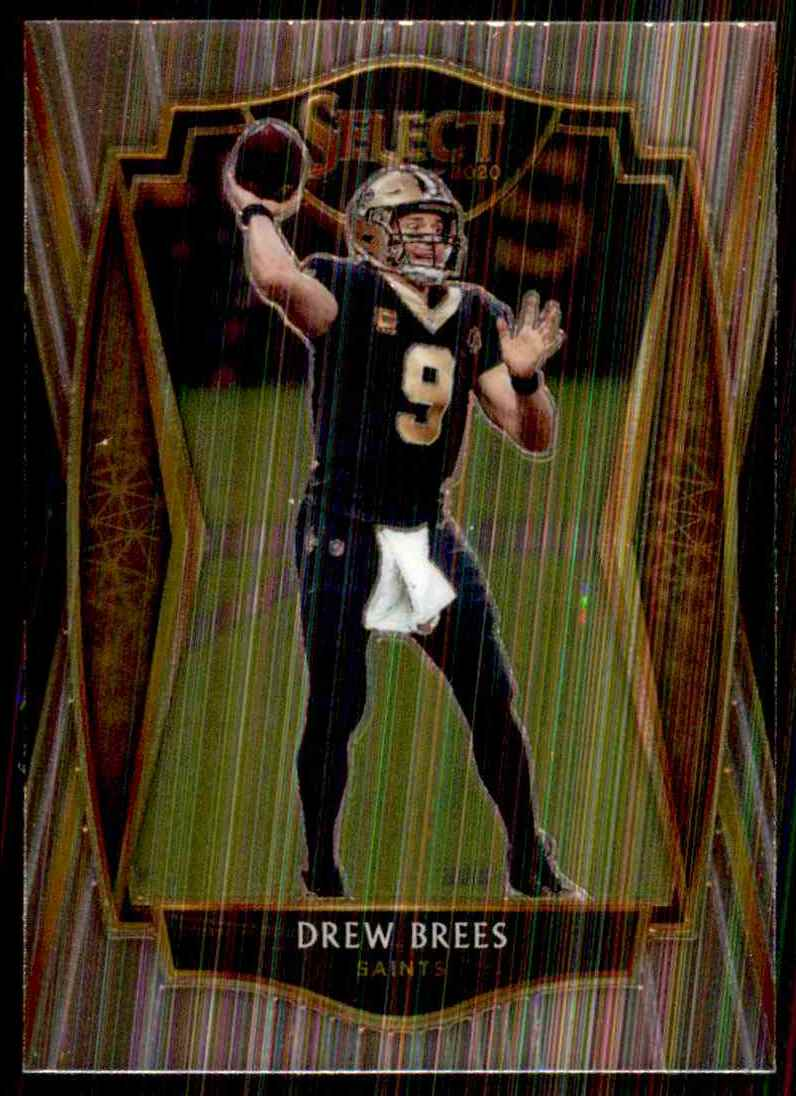 2020 Select Drew Brees #114 card front image