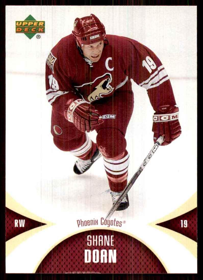 2006-07 Mini Jersey Shane Doan #77 card front image
