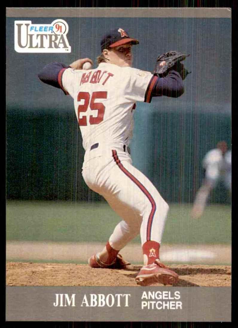 1991 Ultra Jim Abbott #43 card front image