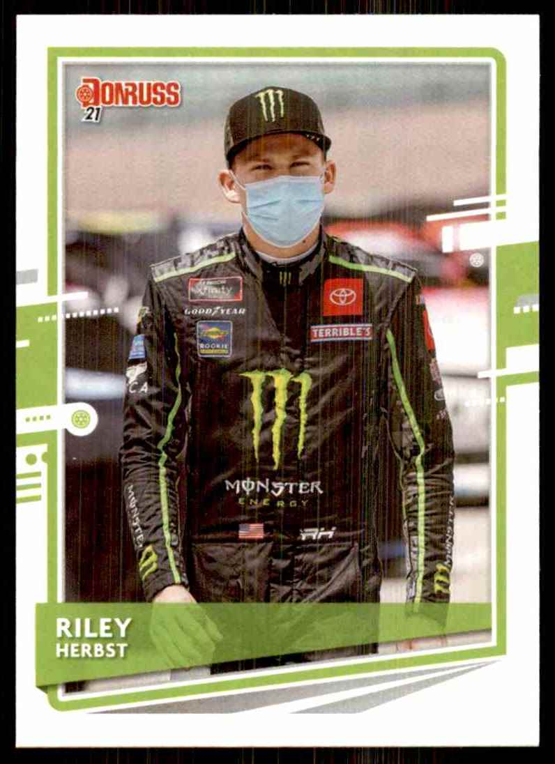2021 Donruss Riley Herbst #99 card front image