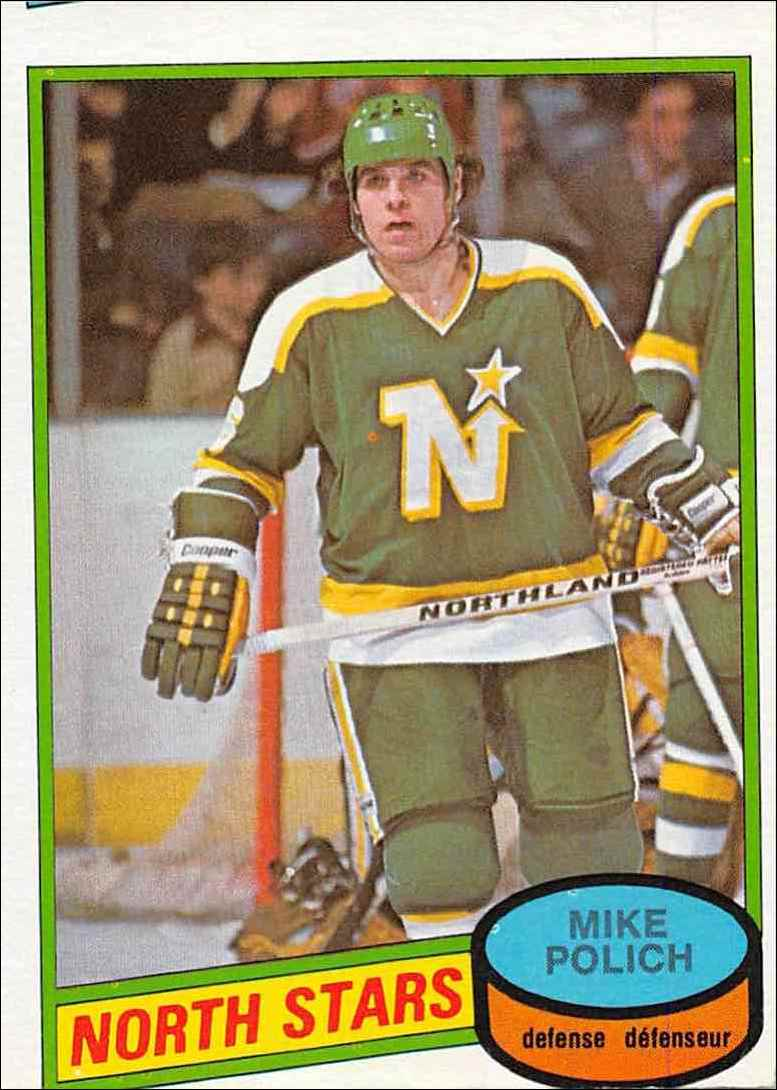 1980-81 O-Pee-Chee Mike Polich #363 card front image