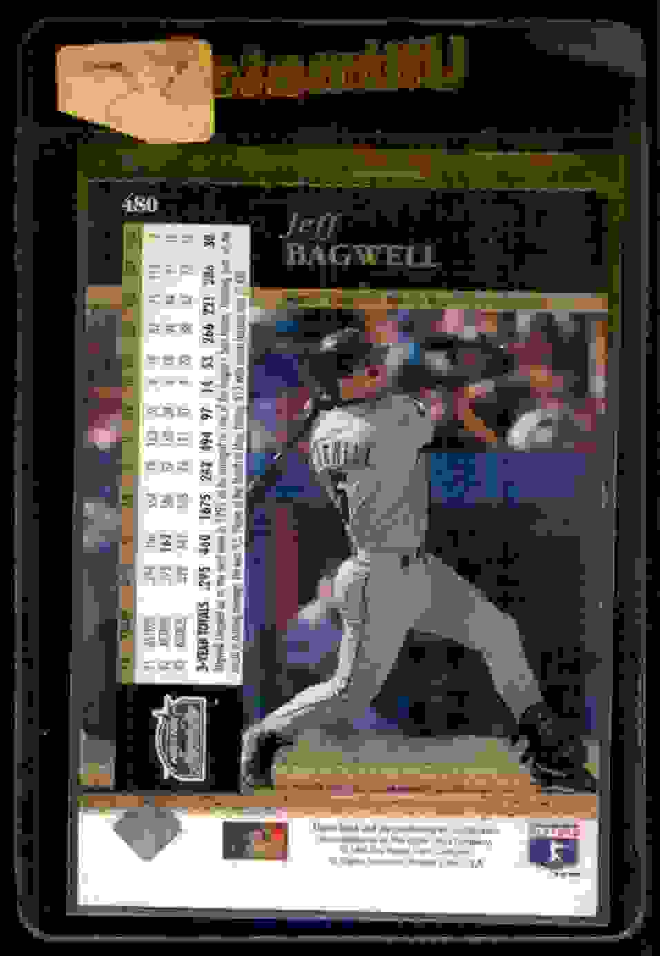 1994 Upper Deck Electric Diamond Jeff Bagwell #480 card back image
