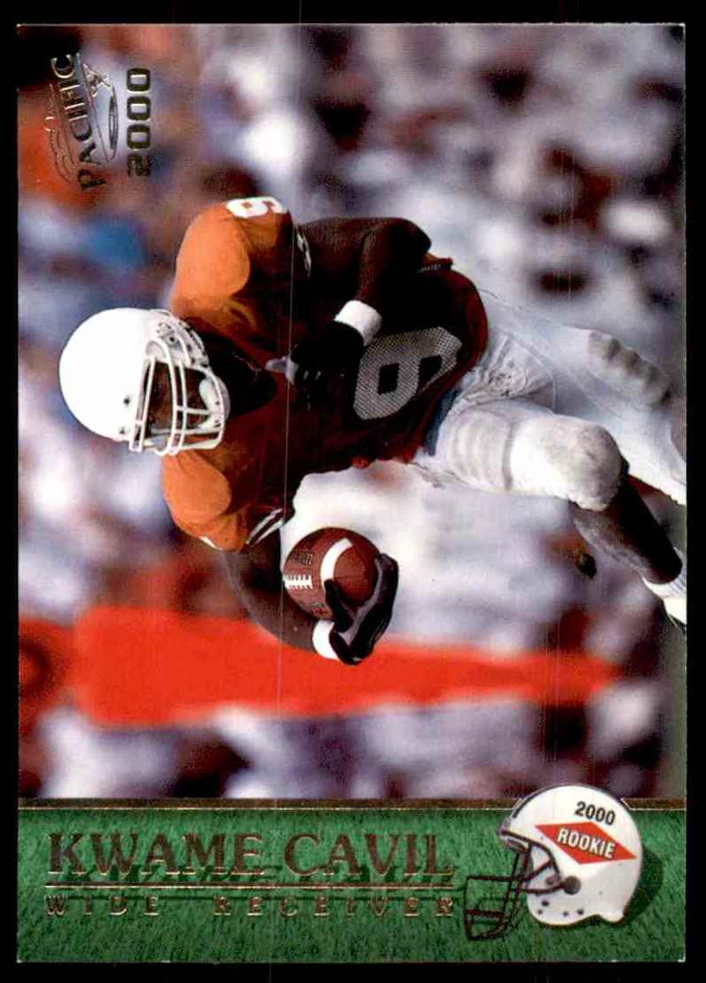 2000 Pacific Kwame Cavil #408 card front image