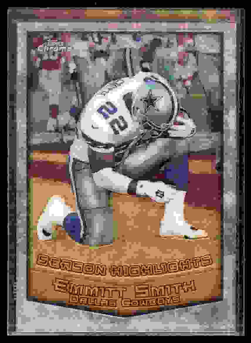 1999 Topps Chrome Emmitt Smith #128 card front image