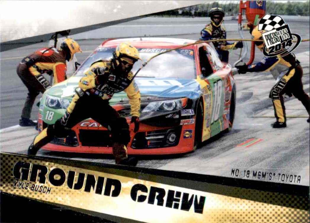 2014 Press Pass Kyle Busch's #71 card front image