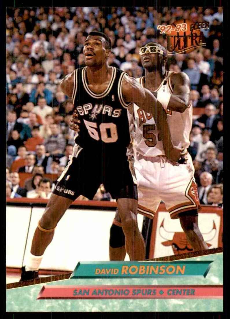1992-93 Ultra David Robinson #167 card front image
