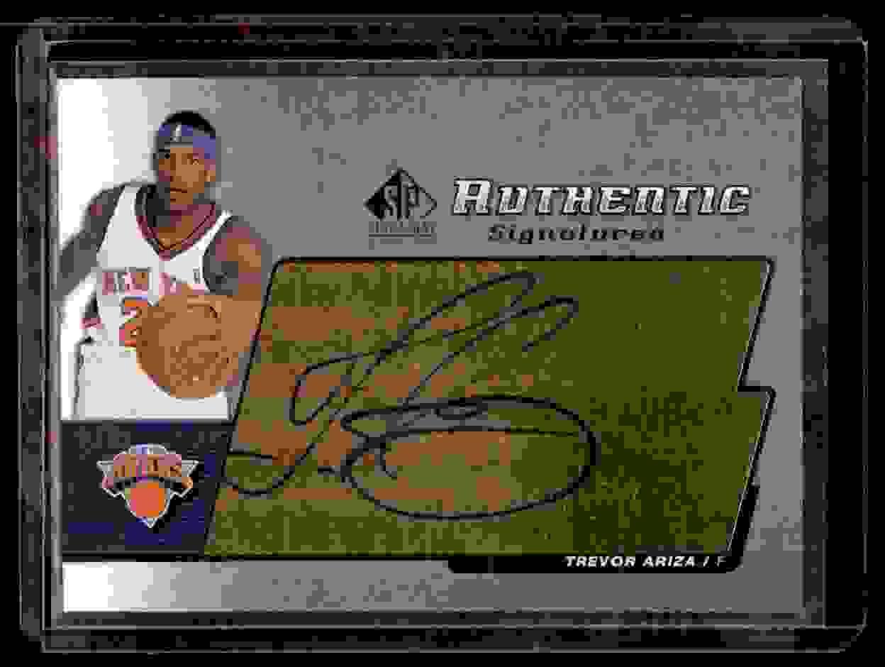 2004-05 SP Signature Edition Signatures Trevor Ariza #TR card front image