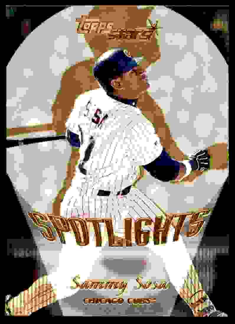 2000 Topps Stars Sammy Sosa #157 card front image