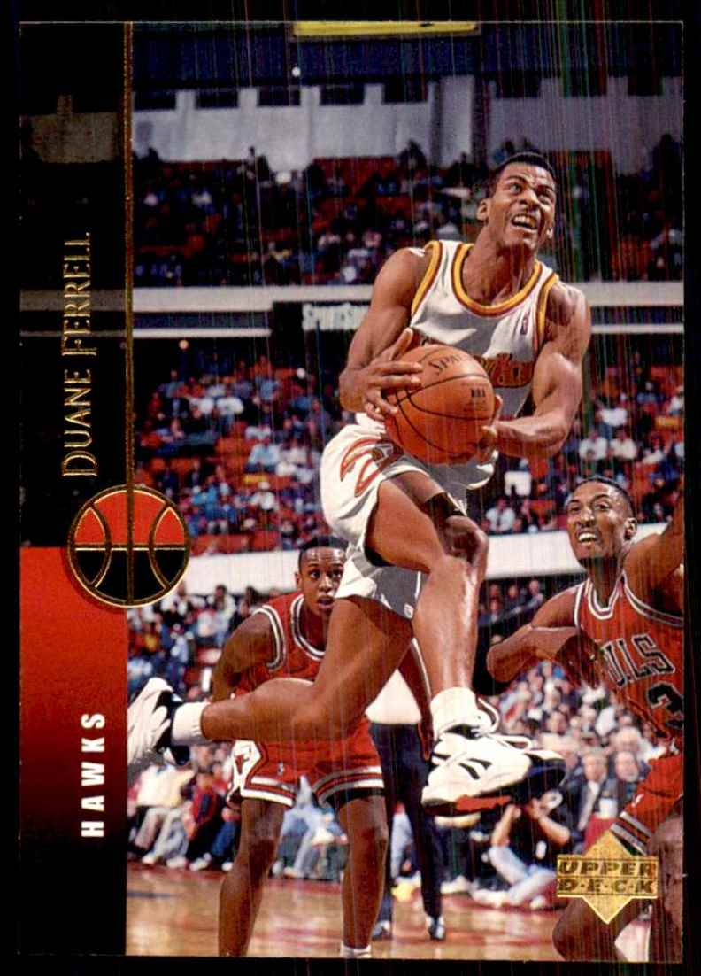 1994-95 Upper Deck Duane Ferrell #58 card front image