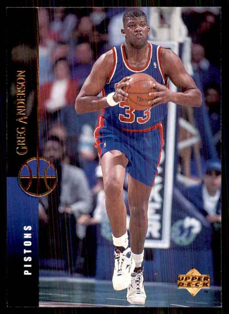1994-95 Upper Deck Greg Anderson #130 card front image