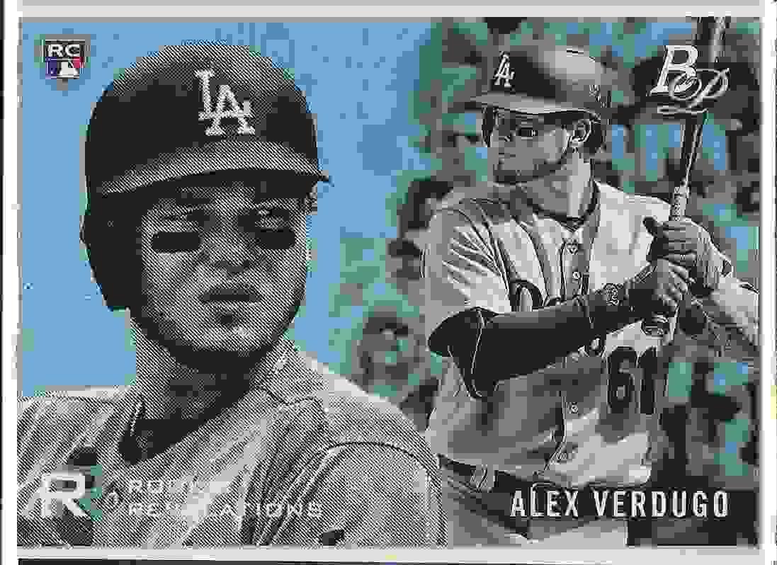 2018 Bowman Platinum Rookie Revelations Alex Verdugo #RR-16 card front image