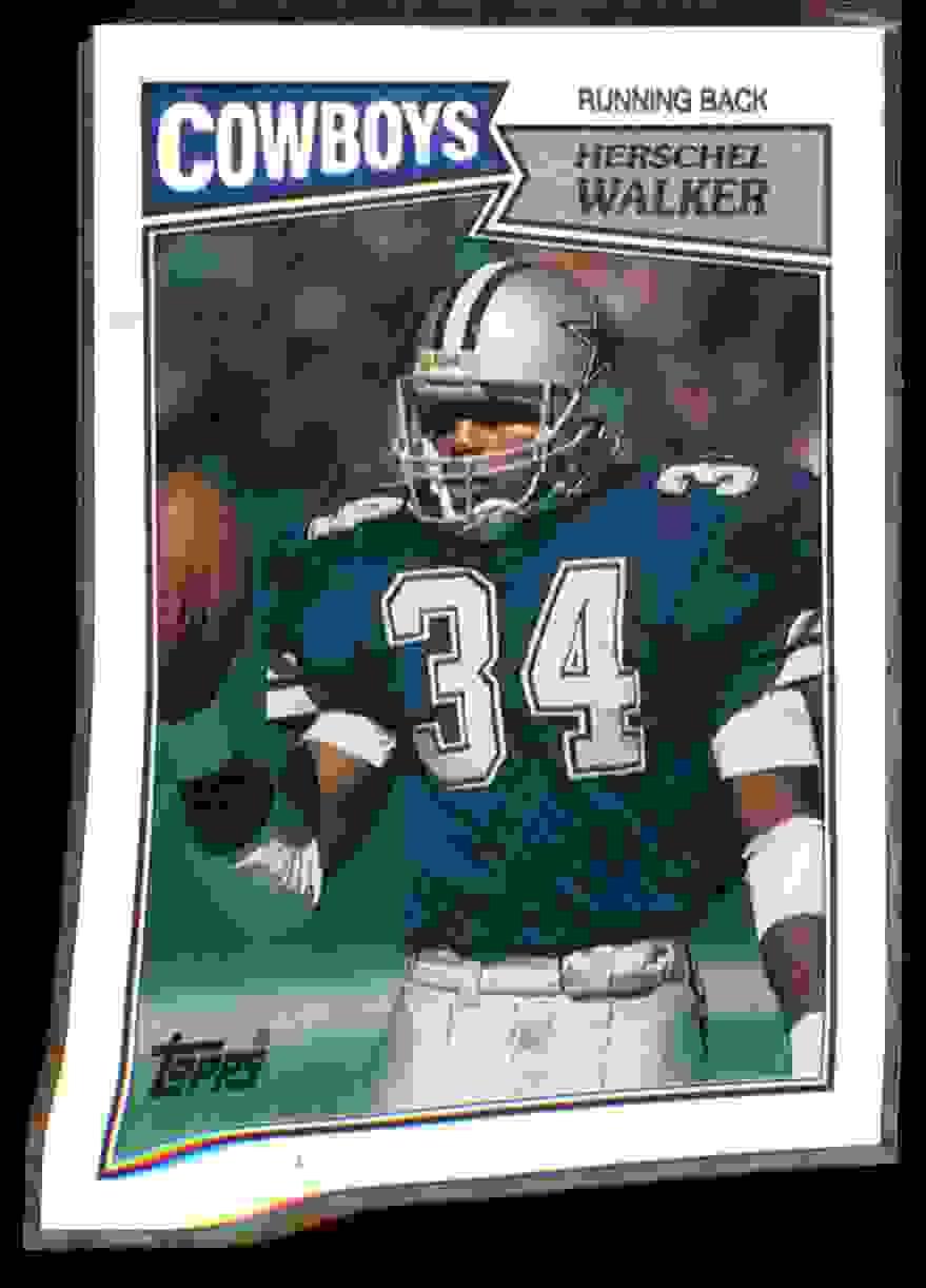 1987 Topps Herschel Walker #264 card front image