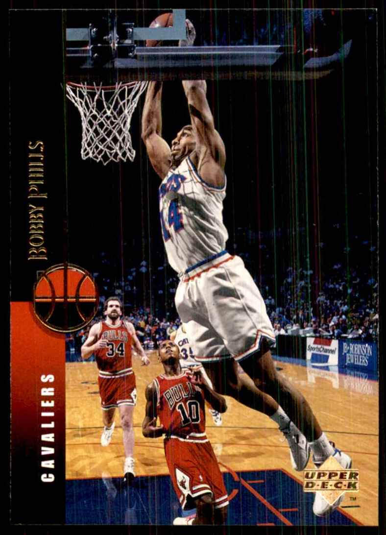 1994-95 Upper Deck Bobby Phills #93 card front image