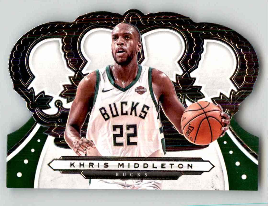 2019-20 Crown Royale Khris Middleton #40 card front image