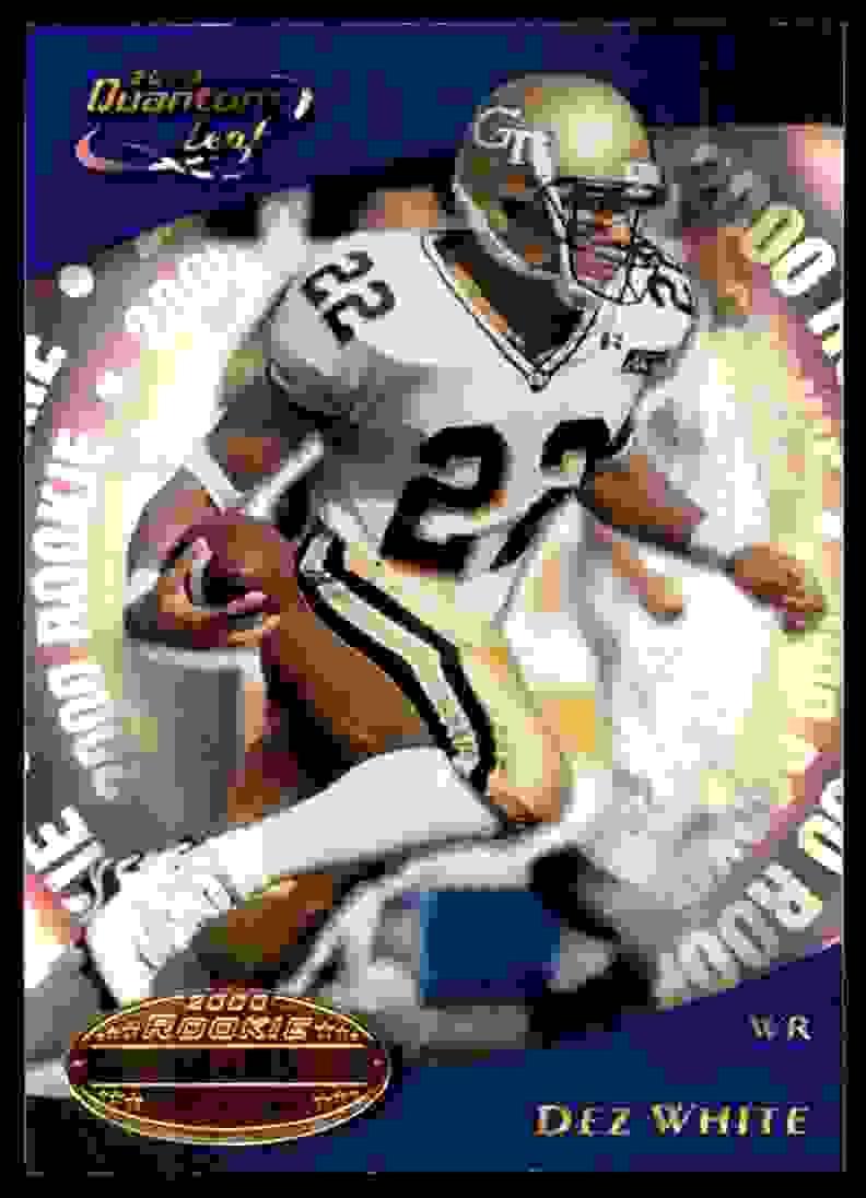 2000 Quantum Leaf Dez White #315 card front image