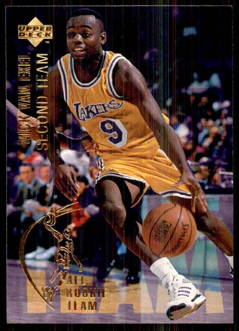 1994-95 Upper Deck Nick Van Exel Art #7 card front image