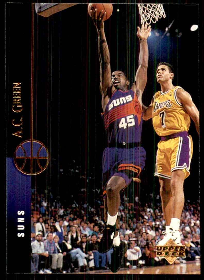 1994-95 Upper Deck A.C. Green #80 card front image