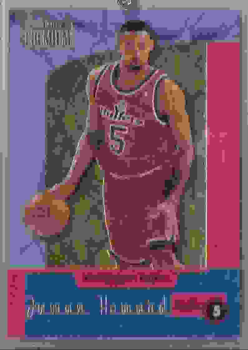 1996-97 Skybox Premium Standouts Juwan Howard #SO2 card front image