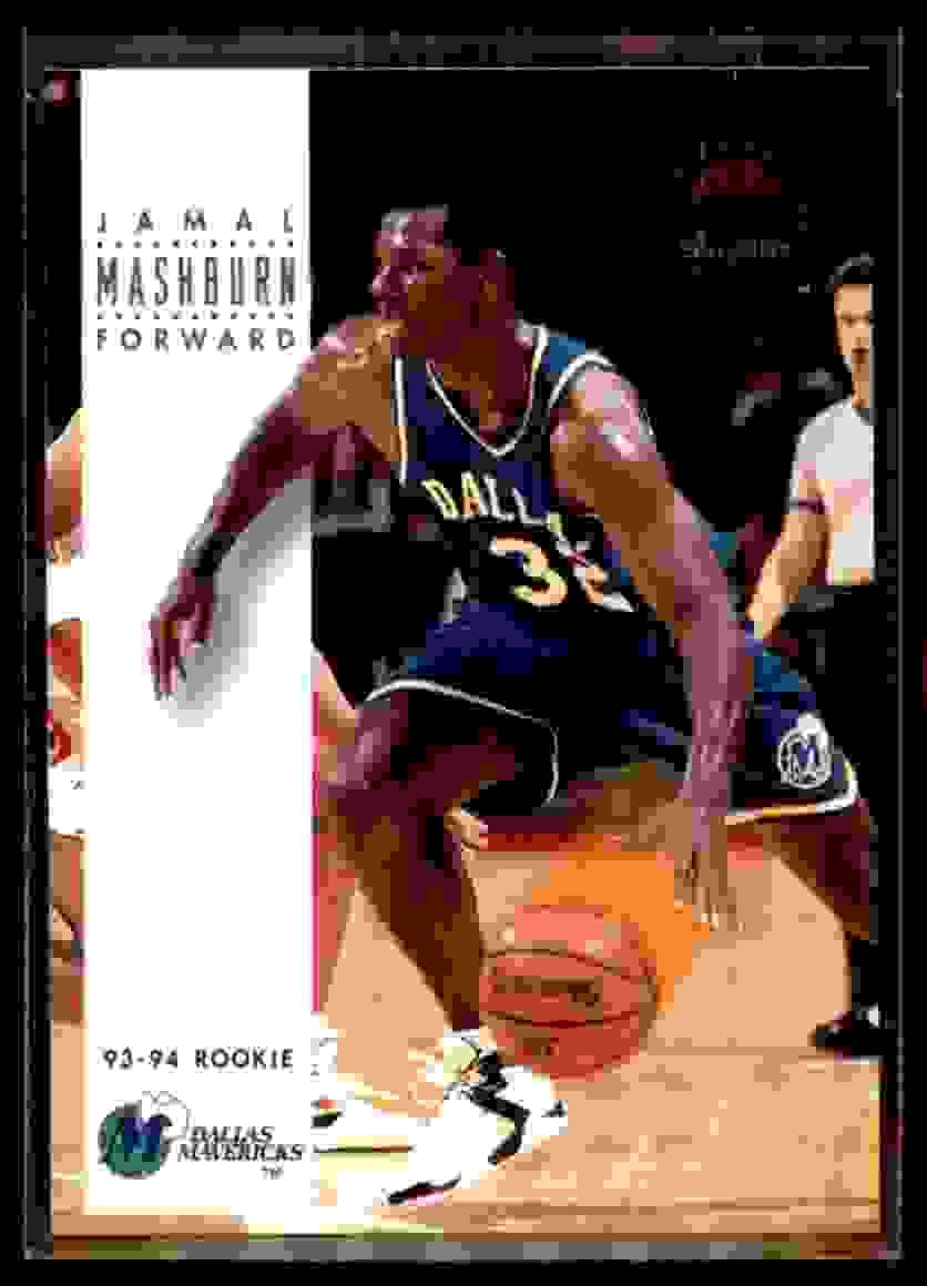 1993-94 Skybox Premium Jamal Mashburn RC #215 card front image
