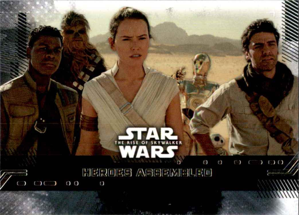 2019 Star Wars The Rise Of Skywalker Series One Heroes Assembled #67 card front image