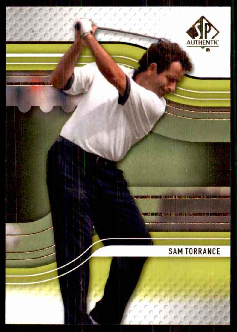 2012 SP Authentic Sam Torrance #32 card front image