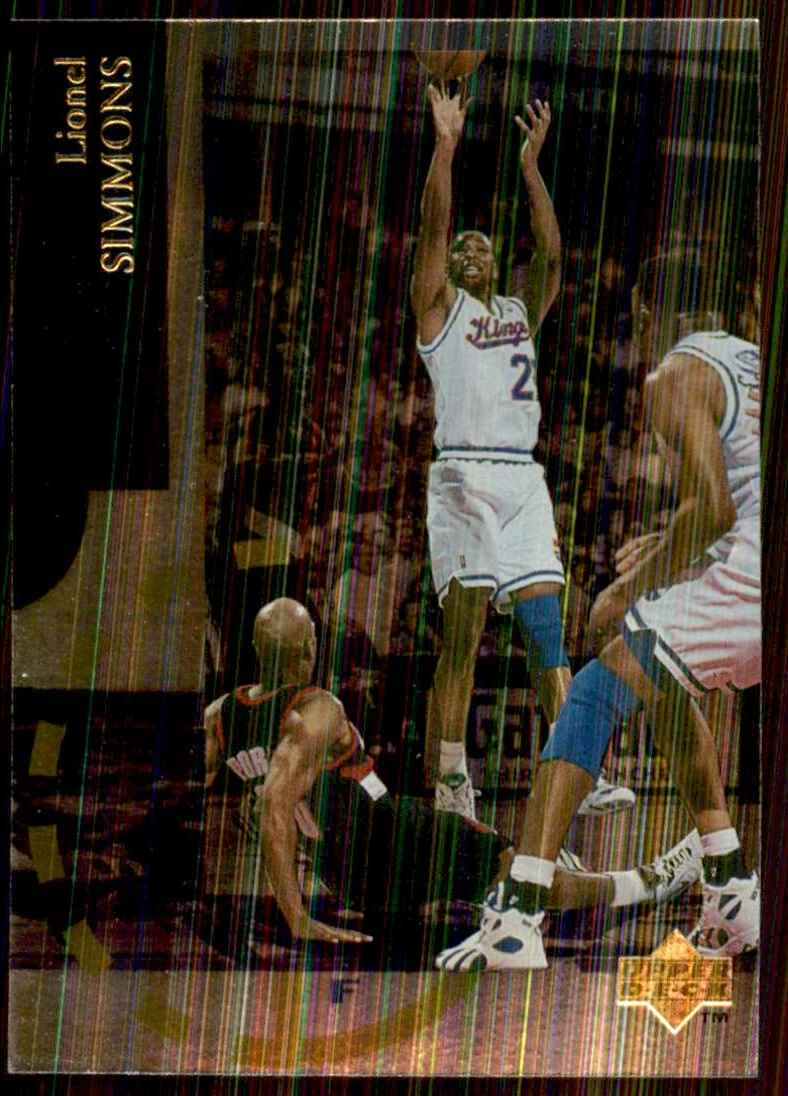 1994-95 Upper Deck Special Edition Lionel Simmons #77 card front image