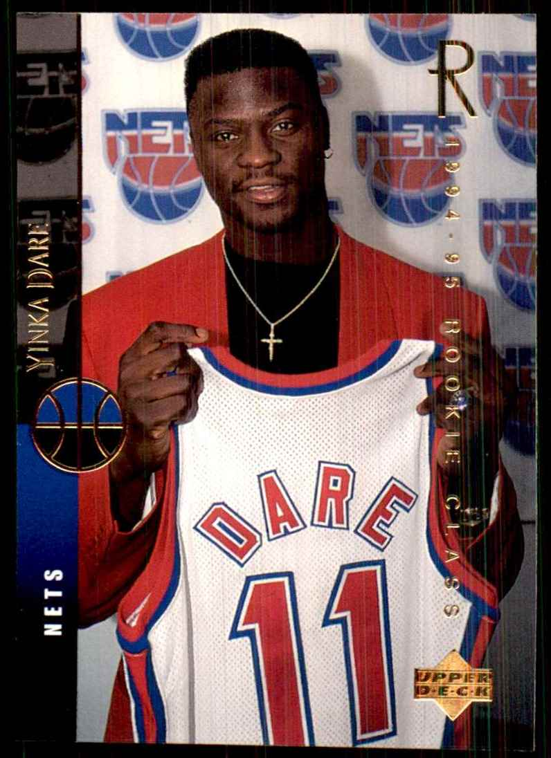 1994-95 Upper Deck Yinka Dare RC #161 card front image