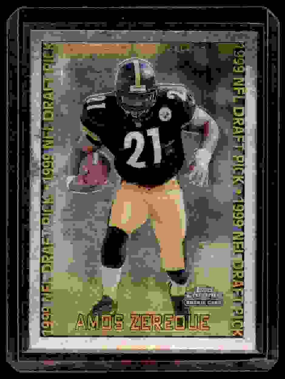 1999 Topps Chrome Amos Zereoue #138 card front image