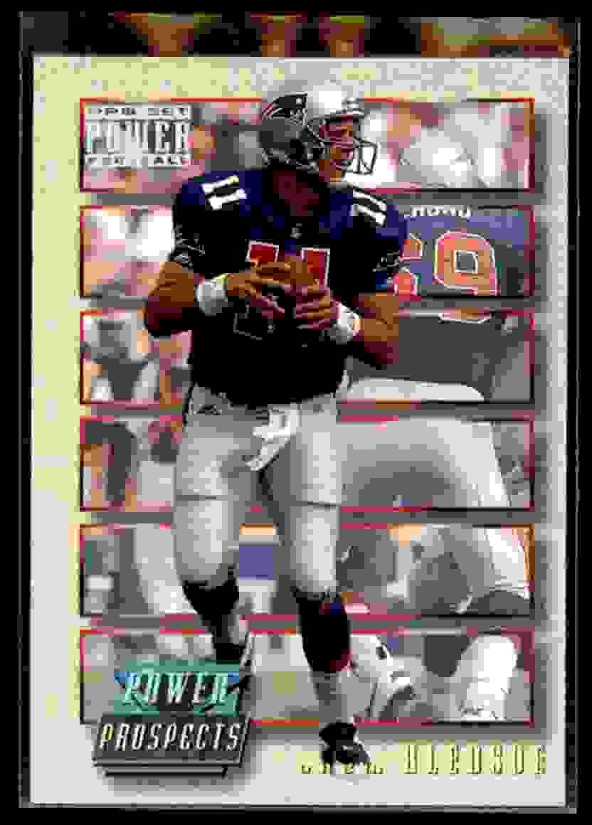 1993 Power Update Drew Bledsoe #PP1 card front image