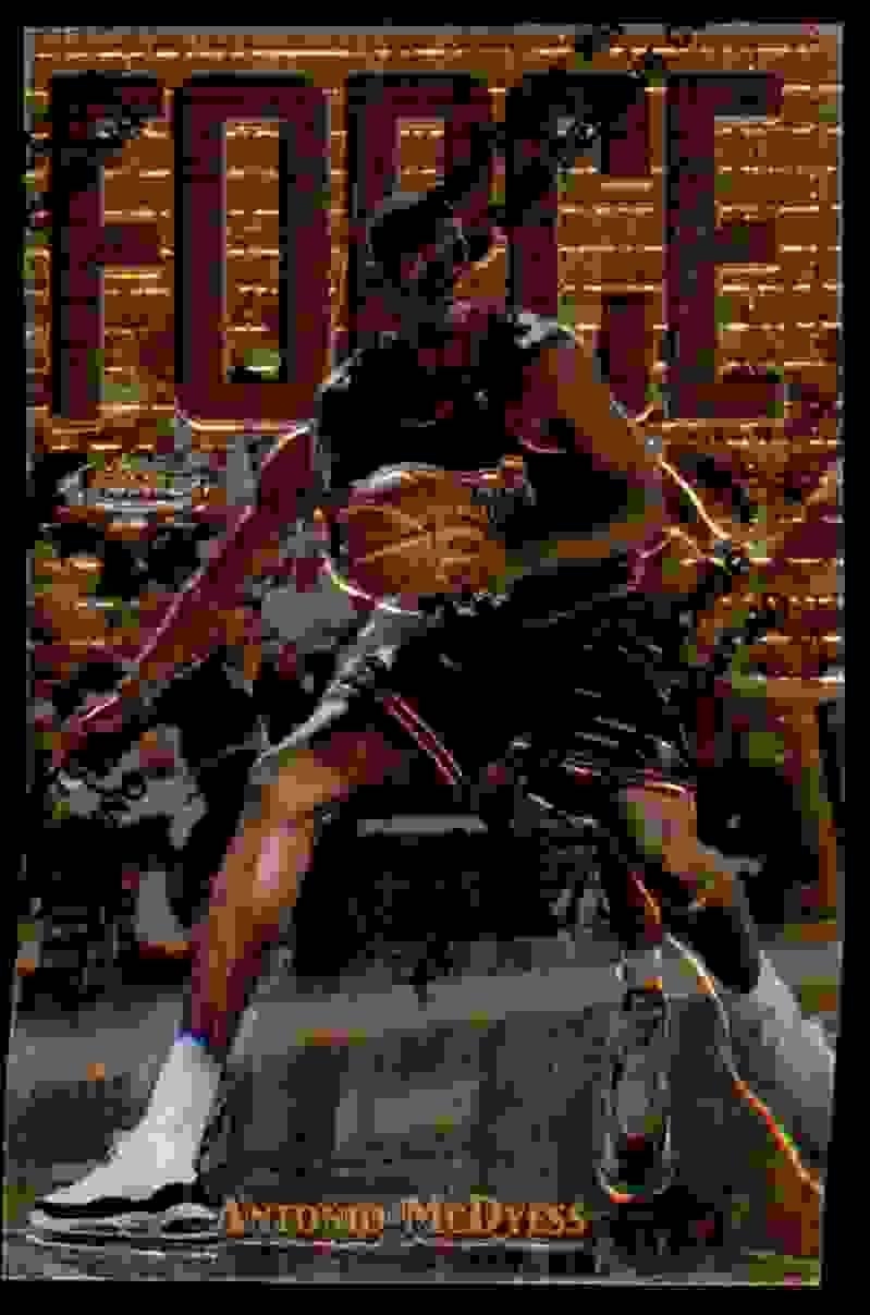 1997-98 Finest Antonio McDyess G #168 card front image